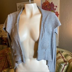 Guess Jeans Gray Shrug Small